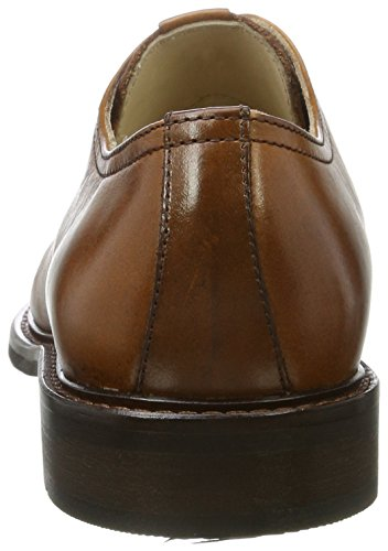 Marc OPolo Lace Up Shoe 70823773401106, Richelieus Homme Marron (Cognac)