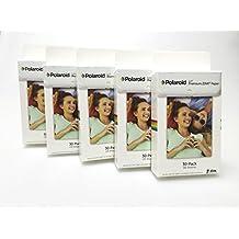 Polaroid ZINK 2x3 pulgadas papel fotográfico Premium Kit ( 5 paquetes 30 disparos x5 total 150 disparos ) - Compatible con Polaroid Snap , Z2300 , Socialmatic instantánea Cámara y Zip impresora instantánea