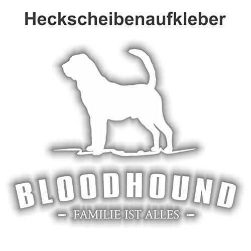 Aufkleber Bloodhound wetterfester