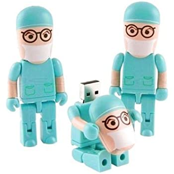 USB-Stick Arzt Krankenhaus- Blau - 8go: Amazon.de