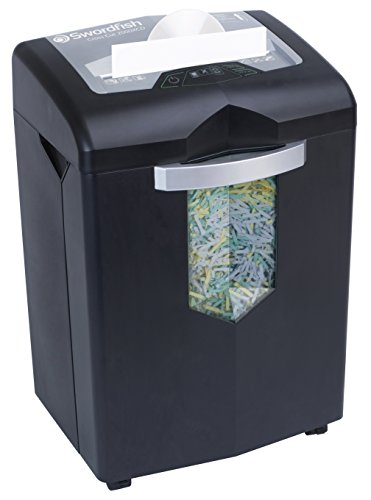 Swordfish 2000XCD 20 Sheet Cross Cut Paper/Document Shredder with Continuous Shredding