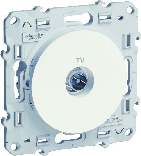 Schneider Electric SC5S52A445 Prise TV Odace Blanc