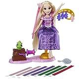 Disney Princess - Rapunzels - Fantastischer Frisierspaß - 1 Puppe mit Styling-Station