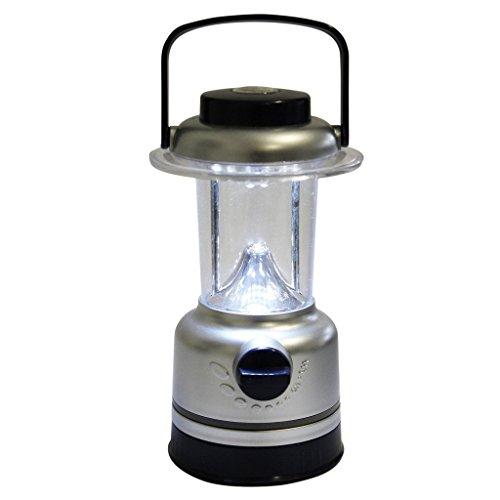 Preisvergleich Produktbild Campinglampe mit 15 LEDs - Sehr hell fürs Angeln, Jagen, Heim und Garten Leuchte mit Dimmer und Kompass von Kurtzy TM