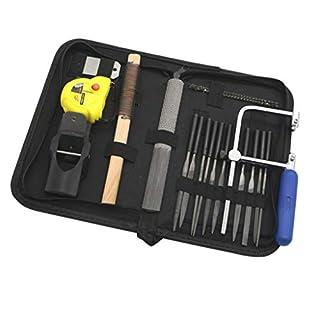 Fenteer 40 Stück Nadelfeile Set Mini Diamant Handfeile Holzraspel Set Diy Holzbearbeitung Handwerkzeug Handgefertigte Holz Handwerk Werkzeuge