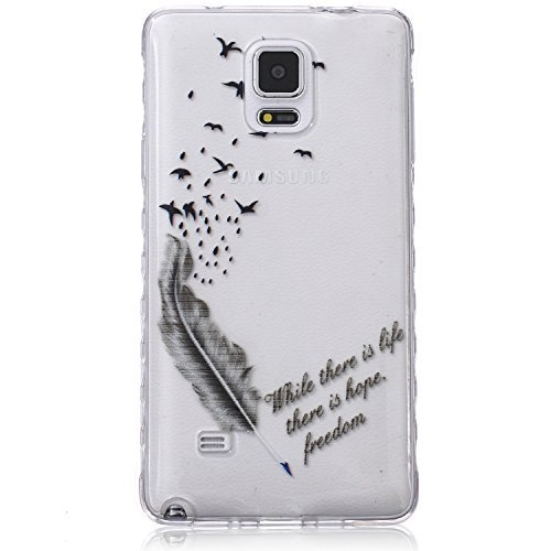 Funda para Samsung Galaxy Note 4, Case Cover para Samsung Galaxy Note...