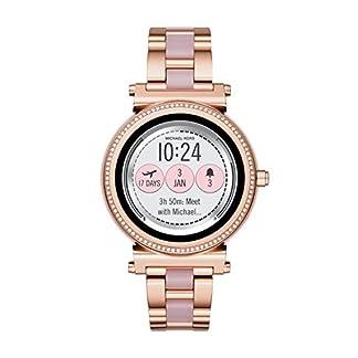 Michael Kors Reloj Analogico para Unisex de Cuarzo con Correa en Acero Inoxidable MKT5041
