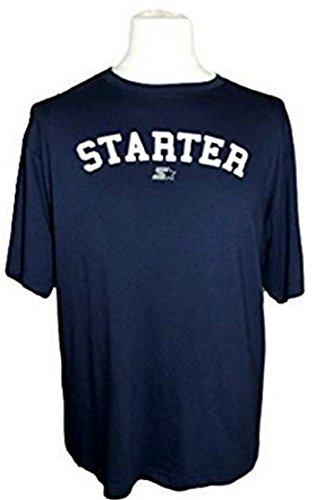 Preisvergleich Produktbild STARTER - T-SHIRT MARINE - HERREN - M