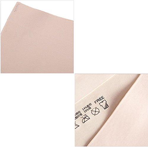 2 Paket Frauen-Schlüpfer-reizvolle Spitze Hipsters Nahtlose Ice Silk Briefs A9