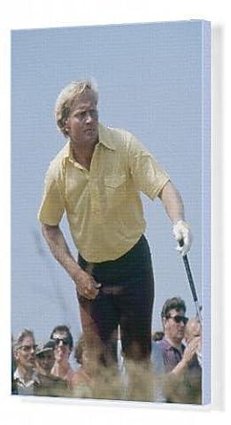 Canvas Print of Jack Nicklaus - British Open Golf Championship