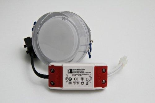 LED-Einbauleuchte 5-flammig