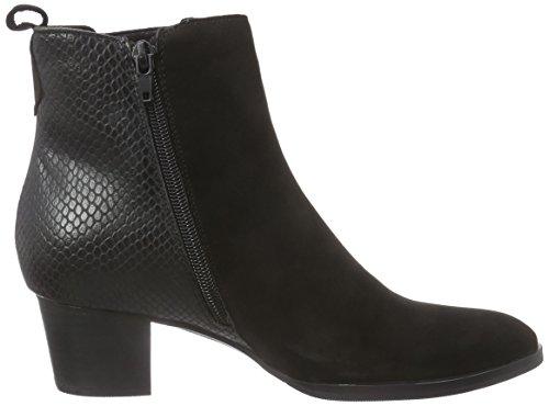 Giudecca JY1535-1 Damen Kurzschaft Stiefel Schwarz (Black BT4)