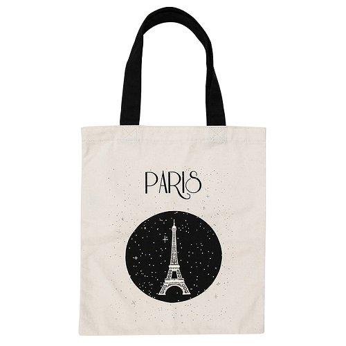 Treffen der Museen nationalen–Grand Palais–Tasche tote-bag Paris Eiffelturm Sterne 100% Baumwolle (Tote Bag 100% Baumwolle)
