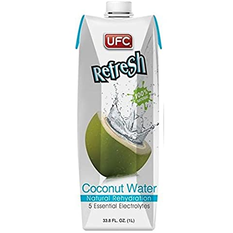 (10 PACK) - UFC - Refresh Coconut Water | 1000ml | 10 PACK BUNDLE