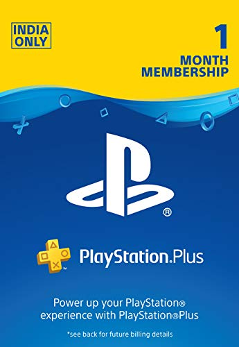 PlayStation Plus: 1 Month Membership Card (Email Delivery in 1 hour- Digital Voucher Code)