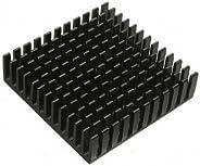 High Quality 40 x 40 x 11 mm Aluminium-Kühlkörper Kühlkörper Kühlung für Chip- IC