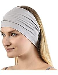 Jasmine Silk Unisex Bamboo Headband Hair Band
