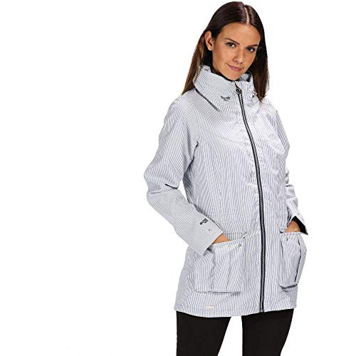 41wOQxIHzbL. SS500  - Regatta Women's Nakotah Waterproof and Breathable Concealed Hooded Outdoor Jacket