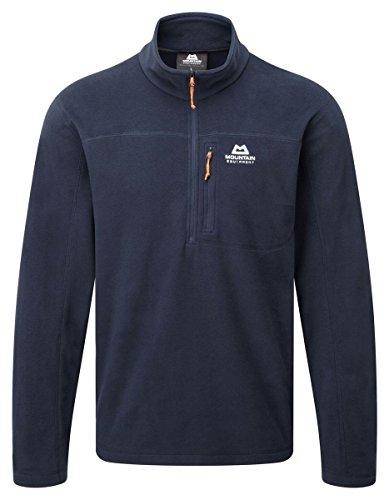 Mountain Equipment Herren Micro Zip Fleece Pullover, Cosmos, L Micro-herren-pullover