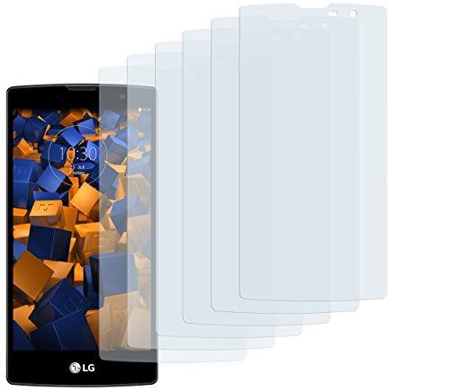mumbi Schutzfolie kompatibel mit LG G4C Folie, Magna Folie klar, Bildschirmschutzfolie (6X)