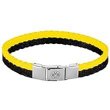 Borussia Dortmund, Bracelet, black-yellow,