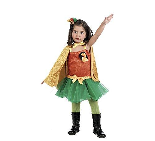 Robin Girl Superhelden Kostüm Mädchen 3-teilig - 1 Jahr