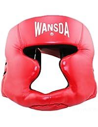 véritable mark8shop fermé boxe Sanda Muay Thai Boxe Protection Casque