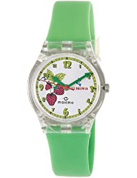 Maxima Analog White Dial Children's Watch - 04431PPKW