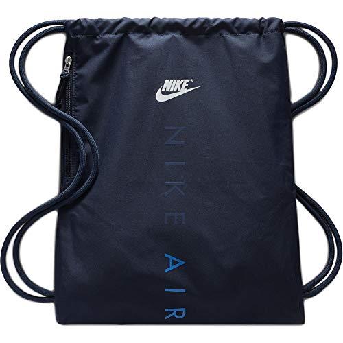 Nike Unisex-Erwachsene NK Heritage GMSK 2-GFX Stofftasche, Mehrfarbig Obsidian/SI, 8x15x20 Centimeters
