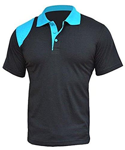 Elegant Vaps Herren Poloshirt XX-Large Schwarz