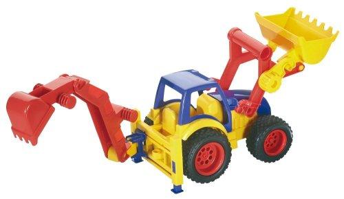 Wader 3812 - Erste Trucks Traktor Front/ Hecklader