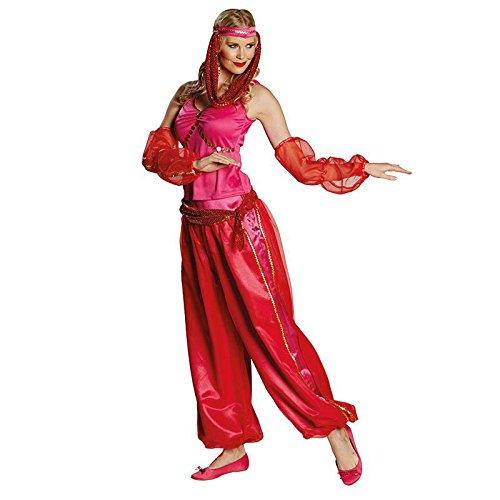 Flaschengeist Gr. 36 - 42 Bauchtänzerin orientalisch Kostüm Fasching Karneval