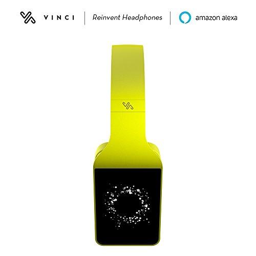 Smart-Kopfhörer Vinci mit künstlicher Intelligenz, mit Alexa kompatibel, drahtlos, 16 GB Speicherplatz, direkter Stream von Spotify, Soundcloud und Amazon Music
