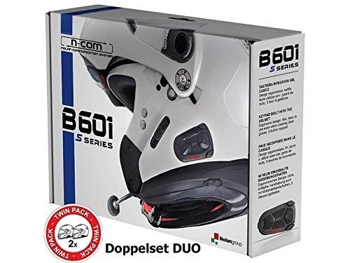 NOLAN N-Com B601 S Interfono Moto Bluetooth set doppio