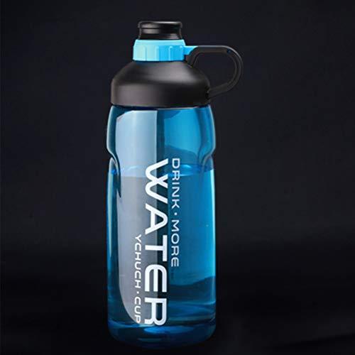 2000 ML 64 unzen Sport Plastikwasserflasche Handgriff Raum Sport für Outdoor Klettern Wandern Wasserflasche -