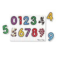 Melissa & Doug 13273 (Wooden) -Peg Puzzles, Multicolor
