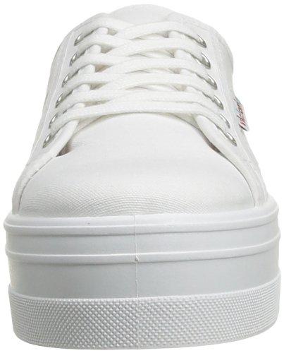 Victoria Blucher Lona , Sneakers Basses femme Blanc (20 Blanco)