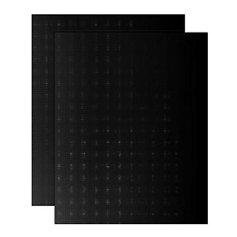 Zilong 2er Set langlebig Grillmatte/Backmatte, Antihaftbeschichtung für bis 260°C ,