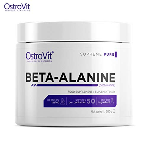 BETA-Alanine Powder 200g – Pure Unflavored | Pharmaceutical Grade Quality | Non-Stimulant Pre-Workout...