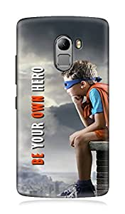 Lenovo A7010 3Dimensional High Quality Printed Back Case