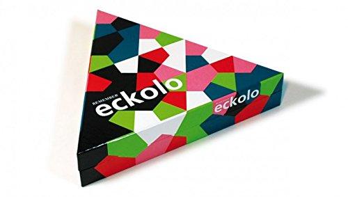 Puzzle Farbkarte (Remember Eckolo Für 2 bis 8 Spieler 6-99 Jahre mit 76 Farbkarten, Anleitung)