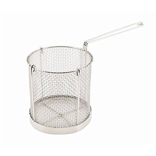 Genware nev-spb15Spaghetti Korb, Edelstahl, 15cm x 16cm Durchmesser