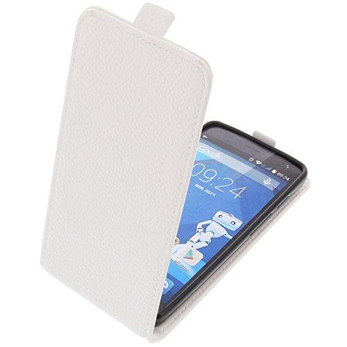 custodia-per-haier-voyage-g31-modello-tascabile-stile-flip-bianco