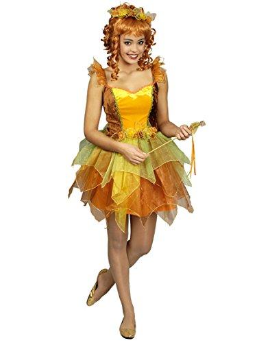 Elfe Luna Kostüm für Damen Gr. 44 46 - Schönes Feen Kostüm für Karneval oder Kinderfasching