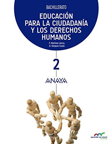 Educación para la Ciudadanía y los Derechos Humanos 2 (Aprender es crecer en conexión)