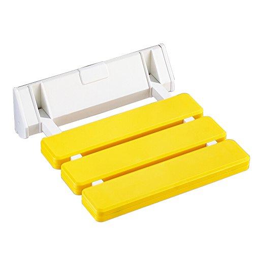 Taburete de ducha amarillo / Taburete / Taburete plegable / Asiento plegable...