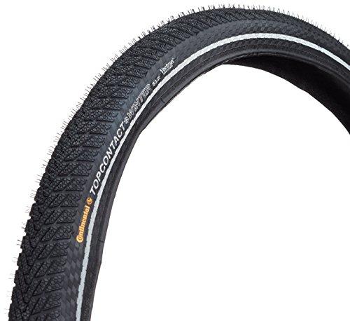 Continental Faltreifen Top Contact Winter II, Black/Black Reflex, One size, 0100713