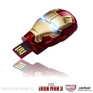 Iron Man 3 Helmet Light Up Flash Drive USB 8 GB