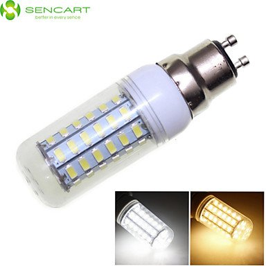 4 W LED Maïs s'allume 3000-3500/6000-6500 lm E14 G9 GU10 56 LED Perles SMD 5730 Blanc Chaud Décoratif Blanc Froid 220-240 V 110-130 V/RoHS