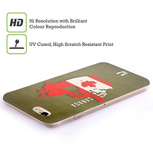 Head Case Designs Singapore Mappe Bandiere Dei Paesi Cover Morbida In Gel Per Apple iPhone 7 / iPhone 8 Canada